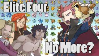 Pokemon Theory: The Elite Four Are Not Pokemon Masters?