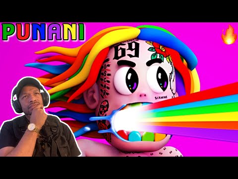 6IX9INE- PUNANI (Official Music Video) REACTION NJCHEESE