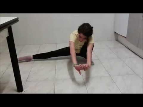 ¡Primer vídeo Aprende gimnasia rítmica. Lección 1: Calentamientos. Alba Cintero