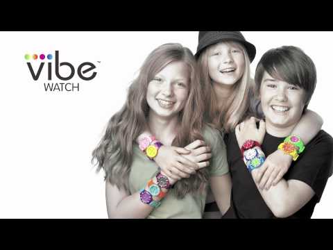 VIBE WATCH (The Original Fully Interchangeable Timepiece) DEMO VIDEO