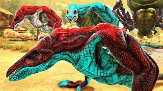 Bebê Skull Crawler Abandonado Pelos Pais Para Morrer! Dinossauros Ark Survival Evolved (PT/BR)