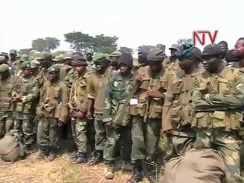 Uganda ewolerezza abajaasi ba Congo