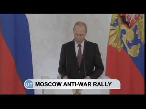 Russian Anti-War Rally: Moscow protest against Kremlin's secret Ukraine war on 21 September