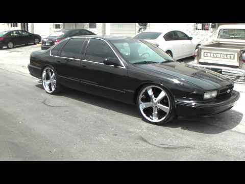 96 chevy impala ss on 22 39 forgiatos staggered chrome. Black Bedroom Furniture Sets. Home Design Ideas