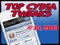 Top Five Premium Cydia Tweaks Just Released May 15, 2013