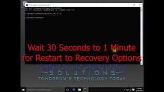 Safe Mode Tutorial - Windows 8/8.1/10 (Command Line / Powershell Admin Method)
