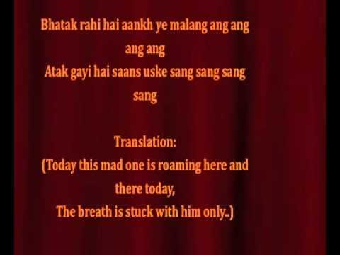 Ram leela Lahu munh lag gaya LYRICS full song  Deepika Padukone...