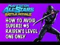 How to Avoid Supers! Episode 5: Raiden's Level 1 Only