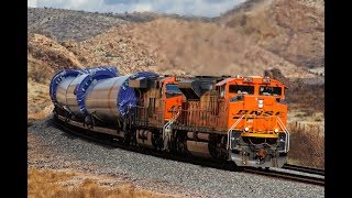 BNSF Freight Trains in Arizona