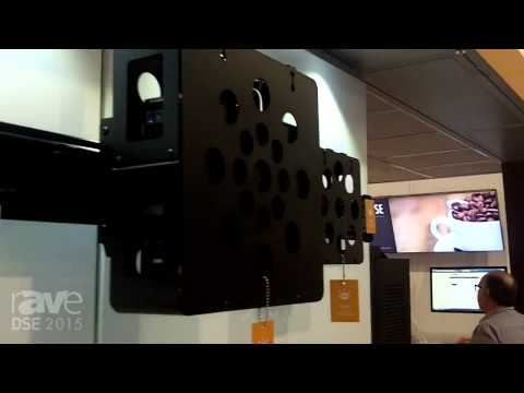 DSE 2015: Chief Exhibits Device Accessories with Cable Management Clips