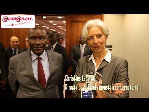 Assemblées annuelles du FMI et la Banque Mondiale / Intervention de Christine Lagarde