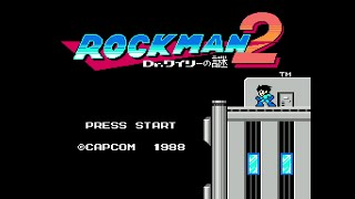 Rockman 2 Anime X VRC6 Full Playthrough