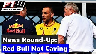 F1 News Round-Up: Red Bull Not Caving, Doubt A Sign Of Weakness and Magnussen Showing Ability