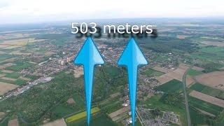 DJI Phantom 4 Maximum Altitude Reach (503m) And Lose Signal