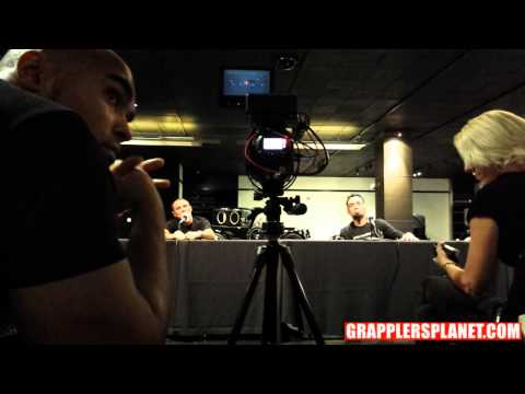 Metamoris 3 Press Conference Eddie Bravo X Royler Gracie Grapplersplanet video