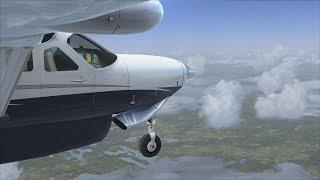 FSX | Around the World Episode #4 - Goose Bay to Nuuk