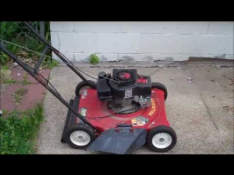 Replacing Lawn Mower Starter Rope