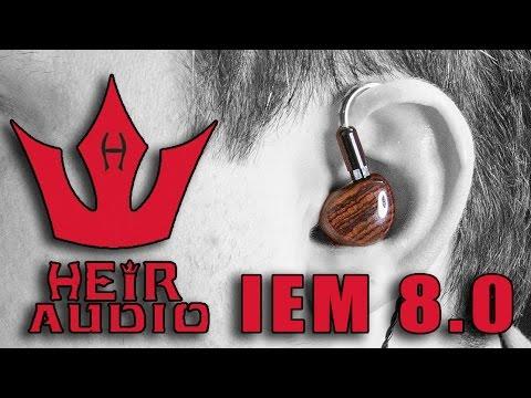 My Heir Audio IEM 8.0 & Rendition 1 Amplifier Review