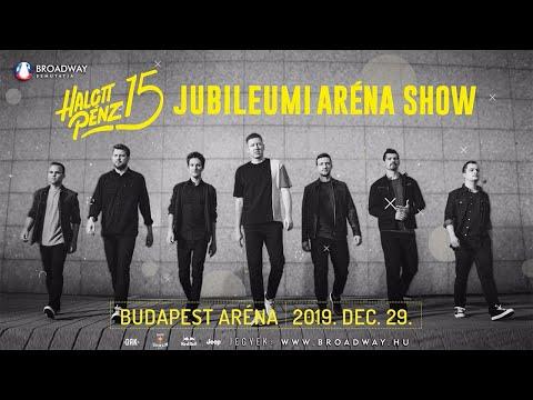 Halott Pénz koncert 2019 - Halott Pénz Jubileumi Aréna Show - 2019. December 29. Budapest ARÉNA