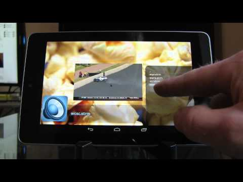XBMC for Android Live TV Demo - Nexus 7 - HDHomeRun Prime