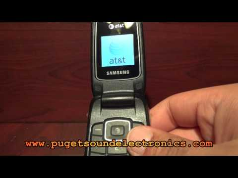 How to unlock At&t Samsung A107