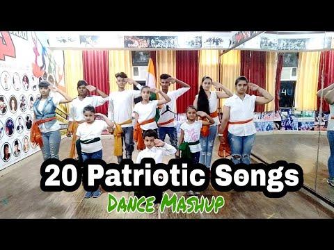 20 Patriotic Song  Dance Mashup | One India Mashup | D4U DANCE ACADEMY | Easy dance Moves