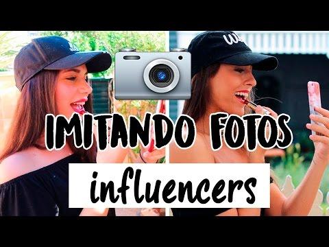 IMITANDO FOTOS DE INFLUENCERS | Paula Díaz