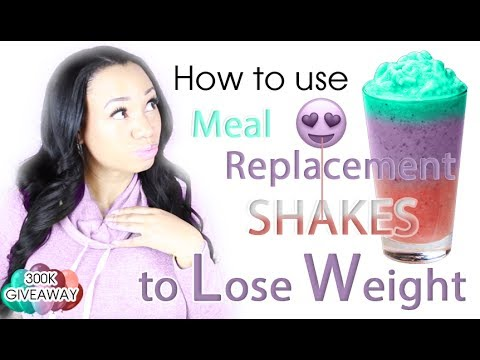 How to use Meal Replacement Shakes for Weight Loss