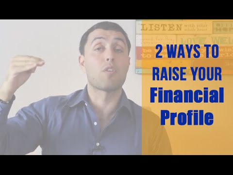 How To Raise Your Financial Profile With A Peer Group