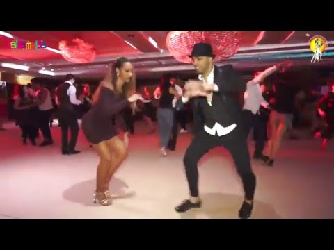 Fadi & Bersy Social Salsa Video  | 1.EIDC