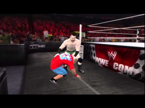 WWE 12 / ROAD TO WRESTLEMANIA / Ep. 01 / Sheamus Vs John Cena /