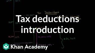 Tax deductions introduction | Taxes | Finance & Capital Markets | Khan Academy