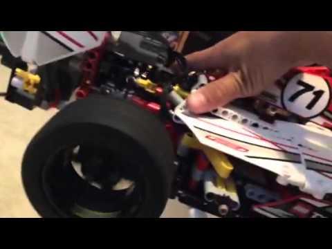Lego Grand Prix car