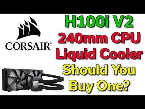 Corsair H100i V2 - 240mm CPU Liquid Cooler - Should You Buy One?