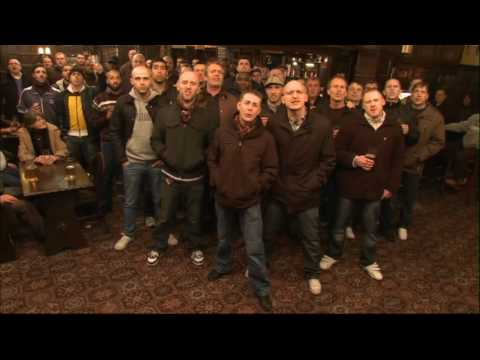 Football Hooligans Singing Song video