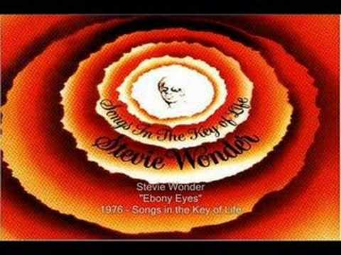 Stevie Wonder - Ebony Eyes video