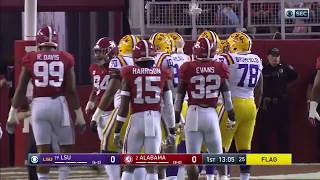 Alabama vs LSU, 2017 (in under 32 minutes)