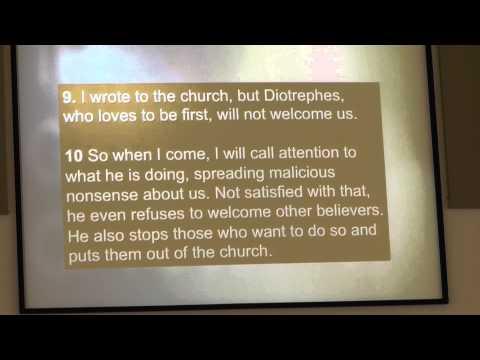 The Chairman - Pastor Sam Ninan - May 17, 2015