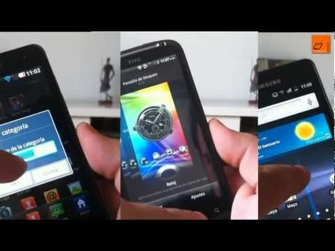 Video: Review Samsung Galaxy S II vs LG Optimus 2X vs HTC Sensation (II)