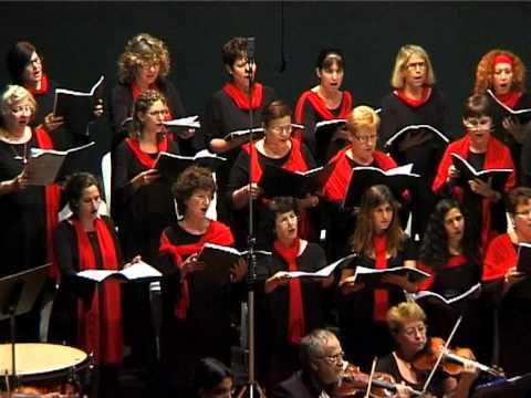 Behold the lamb of god (Handel - Messiah) The Emek Hefer Chamber Choir