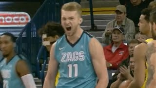 Domantas Sabonis highlights Northern Arizona vs Gonzaga 11.18.2015