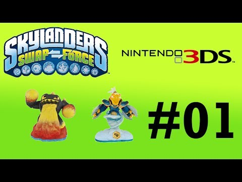 Skylanders SWAP Force 3DS -- Part 1: Sky Docks