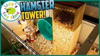 Happy the Hamster DIGGING TOWER! And Thomas and Friends Trackmaster?!