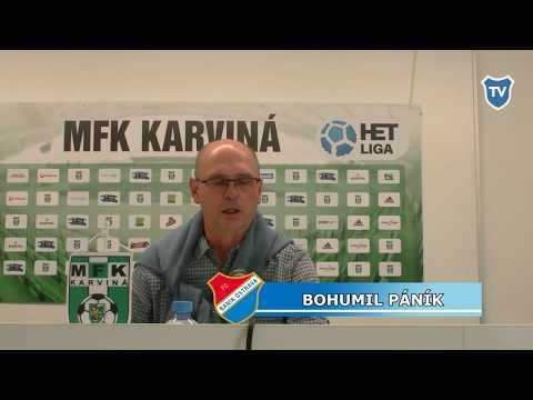 HET liga: Bohumil Páník hodnotí utkání s Karvinou (0:0)
