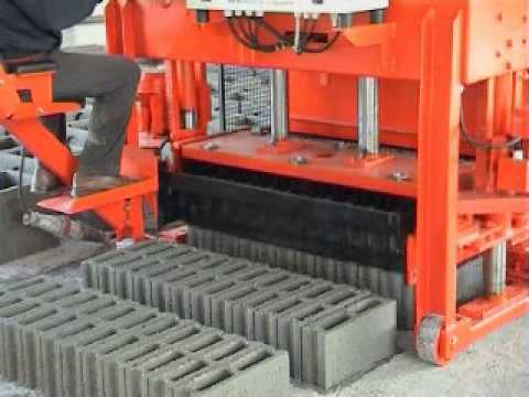 TIGER concrete block machine AT6