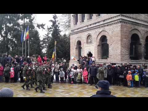 1 Decembrie 2014 Parada militara in Pitesti