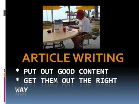 0 Article Writing Strategy To Drive Traffic To Your Website or Blog Taught by NetDivvy