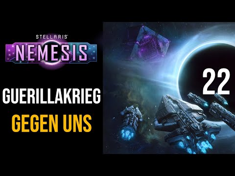 Stellaris NEMESIS | Ein Guerillakrieg gegen uns | 22 | Ironman | Tote Welt | Käptain