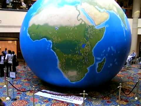 EarthView Globe from Bridgewater State University