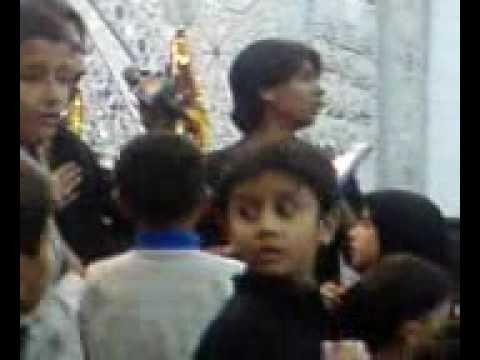 Al-zulfikar 2009, Live Perform Nuha Janam Hussain A.s By Rehan Haider .wmv video
